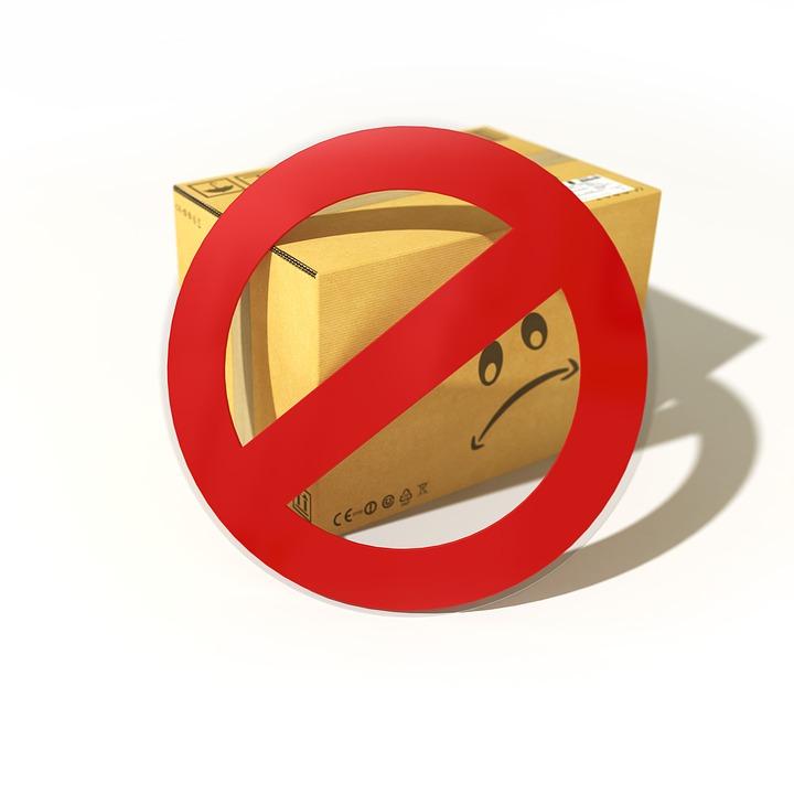 Список запрещенных к перевозке вещей